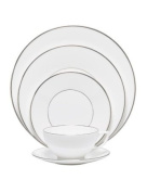 Jasper Conran At Wedgwood Platinum 5-Piece Place Setting - Lined Only