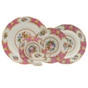 Royal Albert Lady Carlyle 5-Piece Place Setting, Service for 1