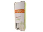 World Centric Corn Starch Utensil Set, 8 Forks, 8 Spoons, 8 Knives