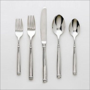 Ginkgo Naples 5-Piece Stainless Steel Flatware Place Setting, Service for 1