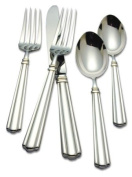 Reed & Barton Preston 18/10 Stainless Steel 5-Piece Place Setting, Service for 1