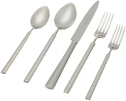 "Herdmar ""Vintage"" 18/10 Stainless Steel 5-Piece Place Setting"