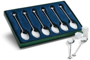 Silver-Plated Tea Spoons - Set of 6