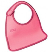 Built NY Comfy Bib - Hot Pink / Orange