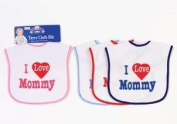 Terry Cloth Bib - I Love Mommy!
