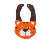 3d Kids Baby Girl Boy Toddler Bibs Cute Cartoon Tiger Soft Saliva Towel