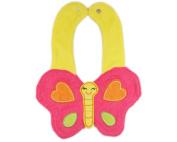 3d Kids Baby Girl Boy Toddler Bibs Cute Cartoon Butterfly Soft Saliva Towel
