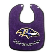 Baltimore Ravens Team Colour Baby Bib
