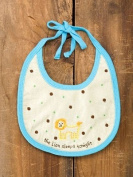 The Lion Sleeps Tonight Baby Bib By Natural Life