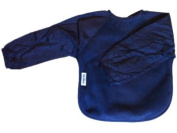 Silly Billyz , Fleece Long Sleeve Bib, Navy, Large, 12 mos - 3 Yrs