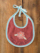 I'd Like to Teach the World to Sing in Perfect Harmony Baby Bib By Natural Life