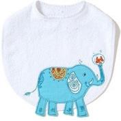 Elephant Funny Friends Bib by The Little Acorn
