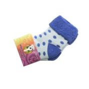 Polka Dot Baby Socks, Blue