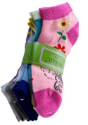 Assorted Honey Bee Low Cut Ankle Socks (Size 4-6) - Size 4-6 Ankle Socks