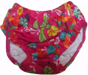 Speedo Pink UV Swim Nappy - Medium