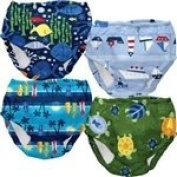 iPlay Ultimate Swim Nappy, Boys (Assorted Colours) Large 18 Months (9.98-11.34kg), 1 Swim Nappy