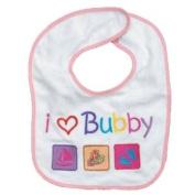 Rite Lite I Love Bubby Baby Girl Bib