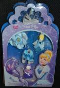 Disney Cinderella Princess Hair Clips Barrette Set