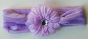 Soft and Stretchy Flower Headband with Purple Daisy, Best Gifts for Kids