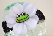Puffy Frog Baby Headband