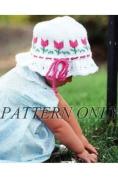 Ruffled Tulip Hat *Pattern*