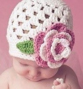 Riley Crochet Baby Hat
