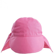Flap Happy Original Flap Hat Cotton UPF 50+ - Candy Pink - Small