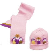 Kidorable Kidorable girls hat/scarf set Girls Hat-Scarf Set - Knitwear