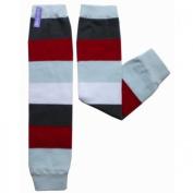 Firetruck Stripe Leg Warmers