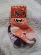 small paul Girl's Toddler Socks 2 Pair Size 12-24M