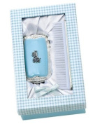 Baby Collection Blue Giraffe Brush & Comb Gift Set