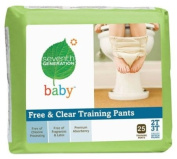 Seventh Generation - Chlorine Free Baby Training Pants, 2T - 3T (up to 15.42kg.) 25 count