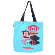 Paul Frank Core Julius Spray Heart Big Tote Shoulder Bag