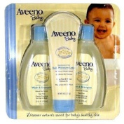 Aveeno Baby Wash & Shampoo, 350ml Bottle Pack of 2