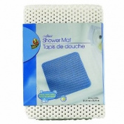 Duck Brand 393482 Softex Shower Mat, 53.3cm X 53.3cm , White