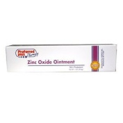 Zinc oxide skin protectant ointment for skin rash and dry itch relief, 30ml