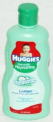 Huggies Naturally Refreshing Baby Lotion with Cucumber & Green Tea - 440ml