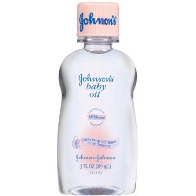 Johnson's Baby Oil, 90ml