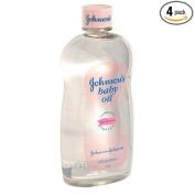 Johnson's Baby Oil, 590ml Bottles