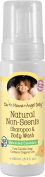 Earth Mama Angel Baby Shampoo and Body Wash Organic Unscented 160ml