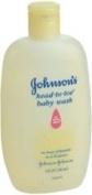 Johnson's & Johnson's head to toe baby wash