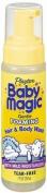 Baby Magic Foaming Hair & Body Wash, Extra Gentle, 210mls