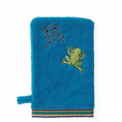 Breganwood Organics Rainforest Collection - Silly Frog Bath Mitt