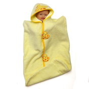 Hooded Bunting Towel, Ducks, Frenchie Mini Couture