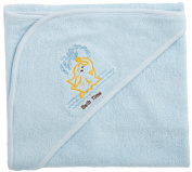 Funkoos Bath Time Organic Cotton Hooded Towel, Baby Boy, Infant/Baby