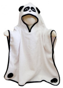Panda Character Poncho Towel with Hood, by Frenchie Mini Couture