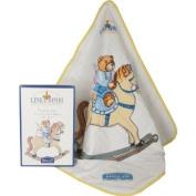 Helan Linea Bimbi Baby Hooded Towel with Gift Box