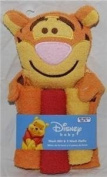 Tigger Wash Mitt & 3 Wash Cloths
