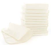 bumGenius Natural Flannel Baby Wipes - Pack of 12