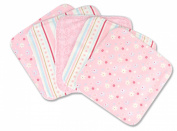 Trend Lab 5 Piece Wash Cloth Set, Brielle